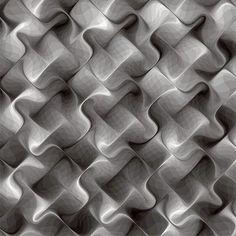 Textura artificial, digital compuesta por figuras geométricas.