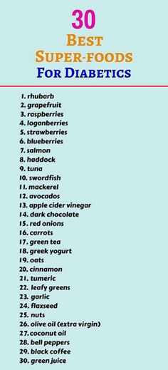 30 Best Super-foods For Diabetics Diabetic Food List, Diabetic Tips, Diabetic Meal Plan, Diet Food List, Easy Diabetic Meals, Diabetic Snacks, Diabetic Friendly, Healthy Meals, Diabetes Care