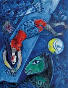 Chagall  Organised by Thyssen-Bornemisza Museum and Caja Madrid Foundation  From 14 February to 20 May 2012