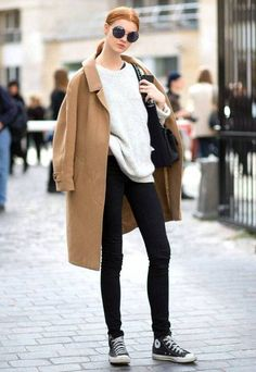 Coat-Camel-Street-Style-Winter-Converse-Tricot
