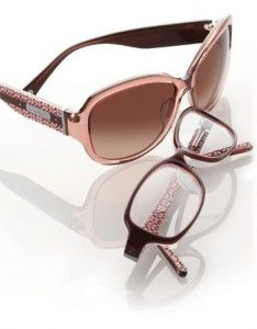 Coach glasses and sunglasses.