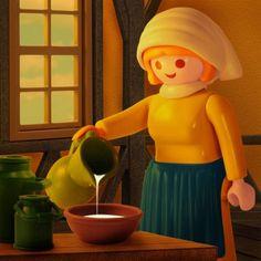 La lechera - Johannes Vermeer
