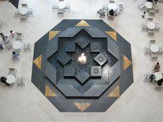 Cafe at Museum of Islamic Art, Doha (Qatar).
