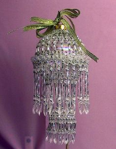 Puyallup Fair 2005 - Bead Ornament 2 | like a mini chandelier