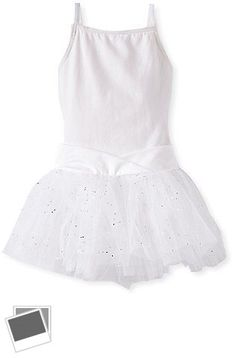 Leotards and Unitards 152354: Capezio Little Girls Camisole Tutu Dress, White, T 2-4 -> BUY IT NOW ONLY: $31.79 on eBay!