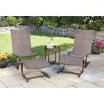 5-piece C-Spring Woven Seating Set