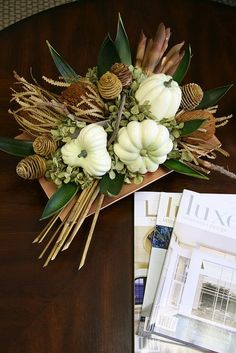 DIY -Welcome the Fall with Merry Decorations for Your Coffee Table