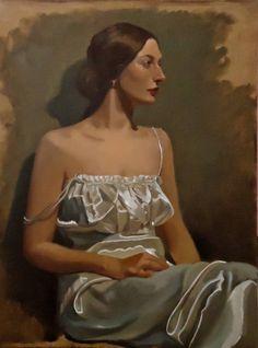 """Saatchi Art Artist Michael Foulkrod; Painting, """"russian girl"""" #art"""