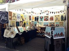 Our booth at the Renegade Craft Fair Chicago, September 2011