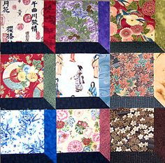 Make Attic Windows Quilt Blocks with an Oriental Theme: Introduction to the Oriental Attic Windows Quilt Block