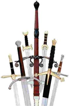 I have a sword collection. Umbrella's too... paperweights, castle, stick pins, hat pins, bar pins, cameo's, lizards, snakes, etc., etc., etc. ...