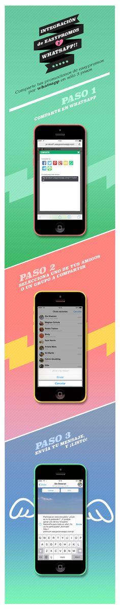 Integración #Whatsapp con @easypromos en #Facebook! #SocialMedia #IM #DigitalMarketing
