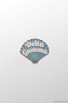 Delta Gamma Shell Pin