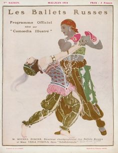 The Rite of Spring ~ History of Ballets Russes - Russian Ballet History