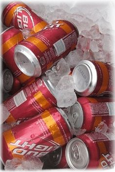I don't usually drink Bud Light but when I do...it better be in a maroon and orange can