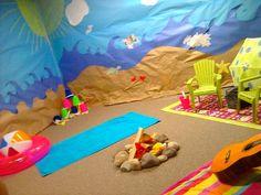 Bonfire Beach Bible Stories - room idea