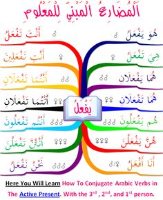 Prof. Haytham Ibrahim   | how to learn Arabic language | -  conjugate verbs in present