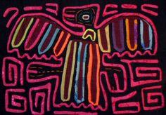Kuna Indian THUNDERBIRD Mola Art-Panama 15102912L