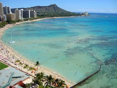 Waikiki Beach My Favorite Place. I go for 50% off. http://www.barditoto.com all the time ask how :-) Im from there