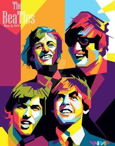 The Beatles Wpap by adityasp on DeviantArt