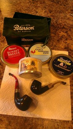 Pipes & Tobacco (Peterson, Dunhill)