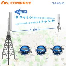 Comfast Cf E312v2wireless Bridge Outdoor 300mbps Router 5ghz Wifi Signal Booster Amplifier Long Range Antenna Wi Wifi Signal Booster Wifi Signal Signal Booster