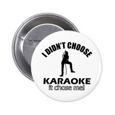 karaoke designs button