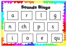 Read Write Inc Set 1 Sound Bingo                                                                                                                                                     More