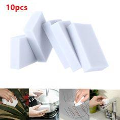 0.68$ (Buy here: http://alipromo.com/redirect/product/olggsvsyvirrjo72hvdqvl2ak2td7iz7/32759242351/en ) Magic Sponge 10pcs/lot 100*60*20mm New Melamine Sponge Eraser Melamine Cleaner Eco-Friendly White Kitchen Magic Eraser for just 0.68$