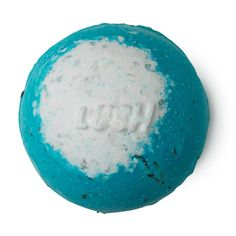 Big Blue Lush Bath Bomb | This calming bath bomb evokes a summer's day at the seaside: perfect for drifting off. Big Blue's key ingredient is a type of kelp called arame seaweed, which softens in your hot bath water. Arame is rich in vitamins and minerals including iodine, which helps to regulate the metabolism. Sea salt softens the skin, helping to remove dead skin cells, while lemon oil clears the mind and, like lavender oil, is antiseptic and cleansing.