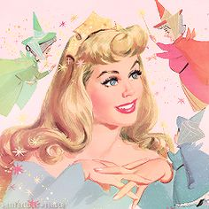Dude look at her face just look at it she looks ready to stab someone in the face and you know why? Princess Aurora was called Sleeping Beauty one too many times.
