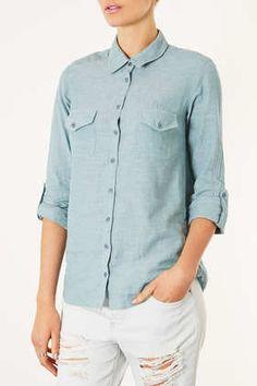 worn open over tshirt