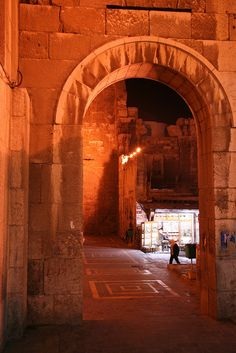 Behind the Umayyad Mosque on the way to القيمريه Qaimarieh  (little moon street) where I lived.  Damascus, Syria  (Restoring Damascus  with watered down paint) Amazon