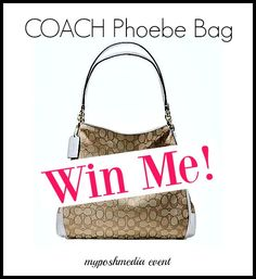 I Just entered to win a COACH HANDBAG! Can't wait to enter again!