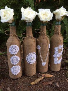 Botellas de amor por VintageLaBelle77 en Etsy