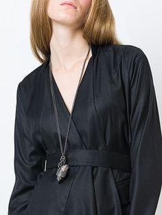 Simona Tagliaferri quartz pendant necklace