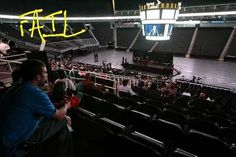 renting out an entire arena for 30 attendees #EPICEVENTFAIL