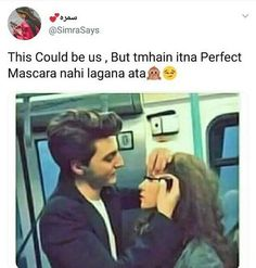 I luv mascara😍😍😍n mascara lovers😍😍😍 Crazy Girl Quotes, Girly Quotes, Crazy Girls, Most Hilarious Memes, Crazy Funny Memes, Funny Quotes, Cute Attitude Quotes, True Love Quotes, Cute Relationship Quotes