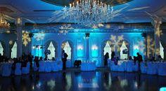 Winter Wonderland event lighting