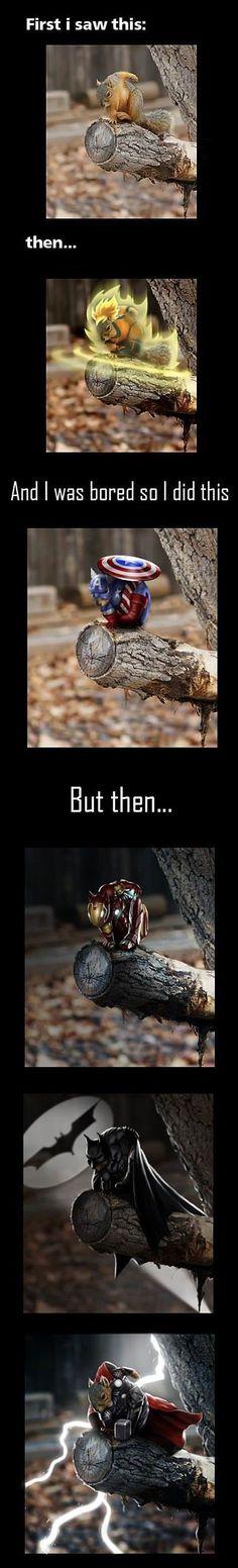 Super Saiyan Squirrel