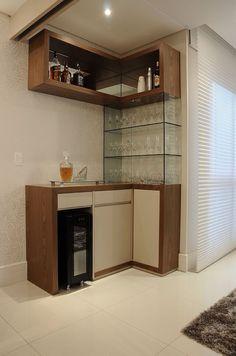 Este moderno bar excelente para resaltar una casa o for Bar casa minimalista