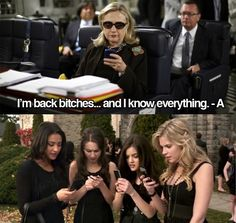 So Funny .. Pretty Little Liars.. Girls