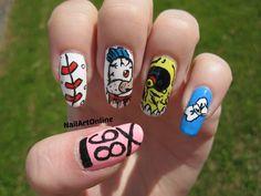 nail art kpop #2ne1 kpop korea nails