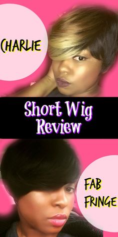 Fab Fringe Wig by Sensationnel Vs. Freetress Charlie Wig. A Review On Short Wigs