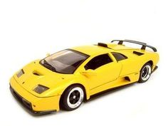 Lamborghini Diablo Gt Yellow Diecast Model 1:18 Die Cast Car by Motormax. $24.99. Brand new diecast model, perfectly detailed and has new box.. This is a very detailed replica of 1/18 scale Lamborghini Diablo Gt Yellow diecast model diecast model car 1:18 scale die cast. Opening Doors, Opening Hood, Opening Trunk, Detailed Interior, Rubber Tires, Steerable Wheels, Perfectly modeled engine, Accurate Gauges and dash inside. Lamborghini Diablo Gt Yellow diecast model diecas...