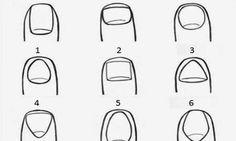 Wat de vorm van je nagels over je persoonlijkheid zegt