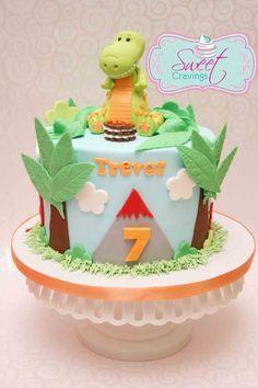 Excellent Image of Dinosaur Birthday Cake - Best Birthday Cakes - Dinasour Birthday Cake, Cool Birthday Cakes, Dinosaur Birthday, Birthday Cake Toppers, Dinosaur Party, 3rd Birthday, Birthday Ideas, Dessert Party, Birthday Party Desserts