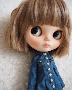 Large Eyes, Handmade Dolls, Doll Accessories, Blythe Dolls, Jessie, Fashion Dolls, Art Dolls, Hairstyle, Disney Princess