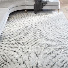 Living Room Carpet, Rugs In Living Room, Living Room Designs, Bedroom Carpet, Contemporary Rugs, Modern Rugs, Modern Living, Unique Rugs, Home Renovation