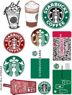 starbucks printable - Buscar con Google                                                                                                                                                                                 More